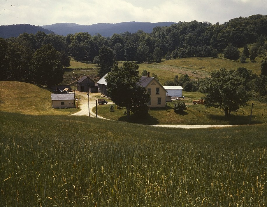 Bethel farm 1939 by photographer John Collier