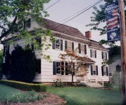 The Burrowes Mansion, Matawan, New Jersey – where a Revolutionary War tragedy occurred