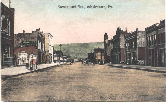 Cumberlnd Avenue, Middlesboro, Ky