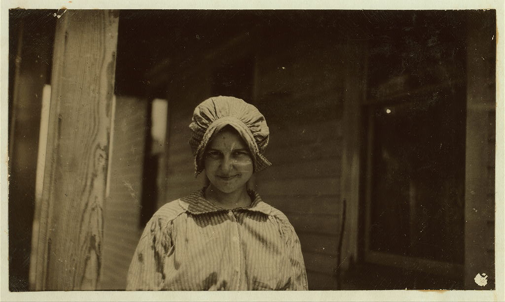 Estice Webb Herrmann, who left the seventh grade of the Elizabethtown, Ky. Public School in October 1915 soon after commencing the grade to be married. Was only 15 years old.