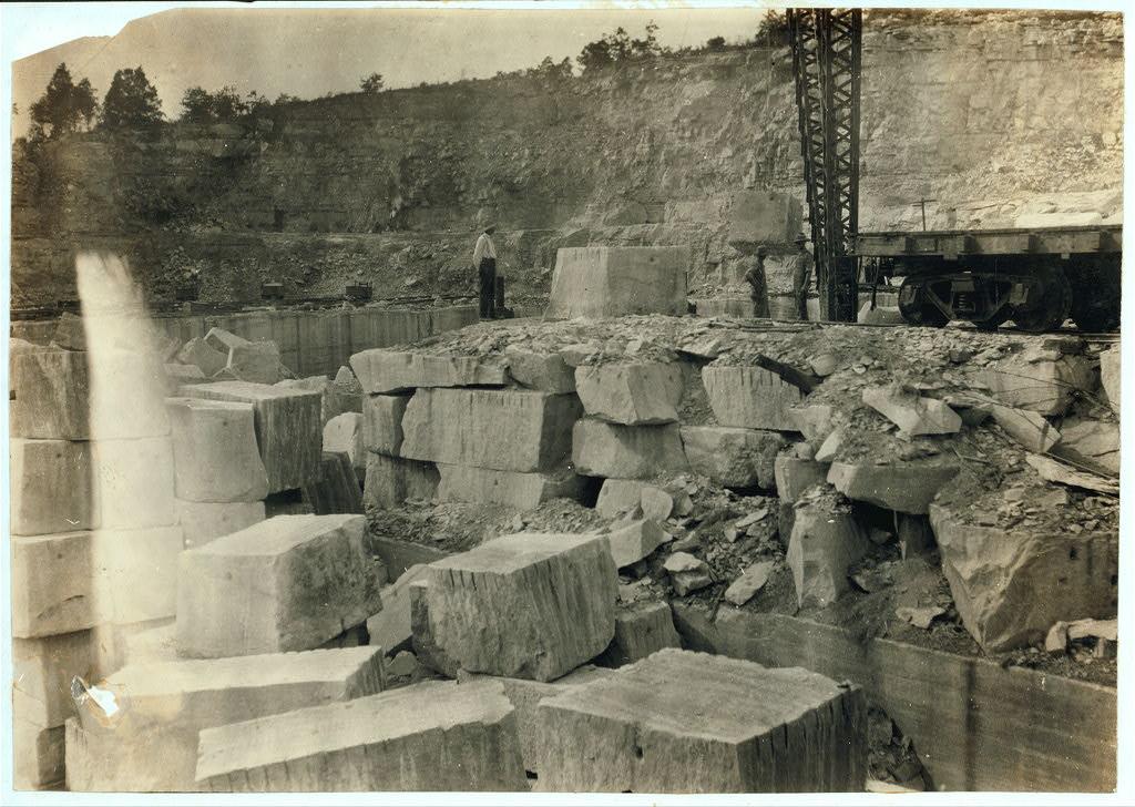 Quarry Scene, Warren County, Kentucky 1916 by Lewis Wickes Hine2