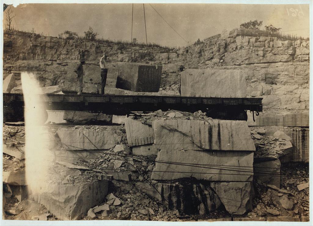 Quarry Scene, Warren County, Kentucky 1916 by Lewis Wickes Hine3