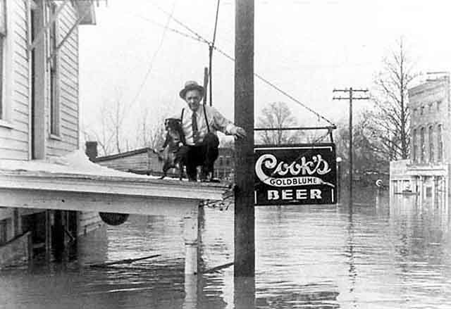 Image result for great ohio river flood of 1937