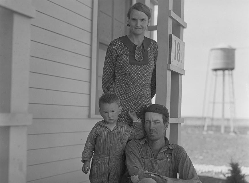 Ropesville tenant farmers Texas
