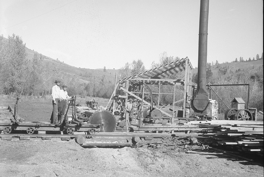Sawmill under construction