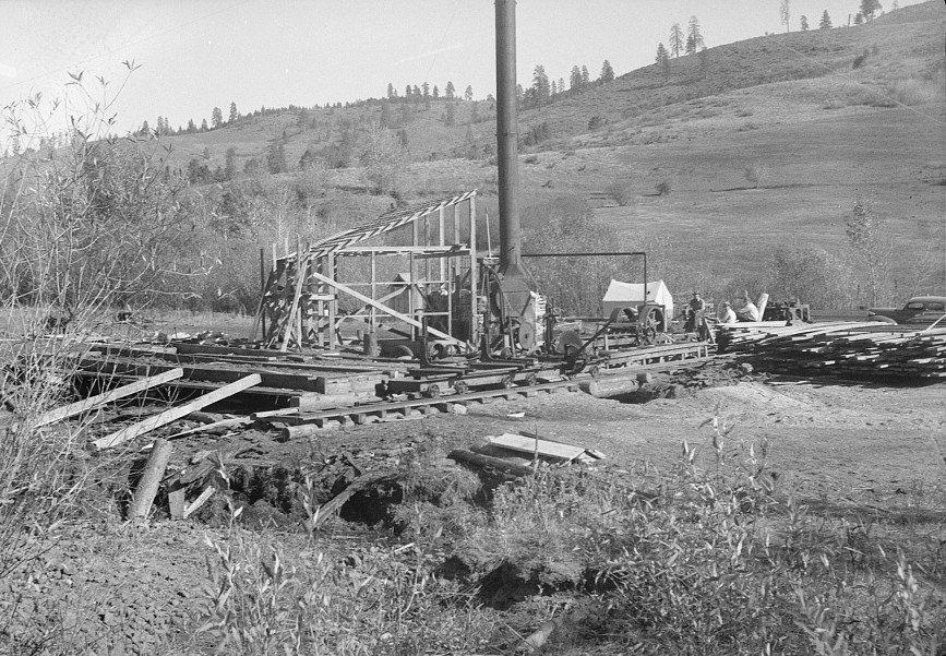 Sawmill under construction2