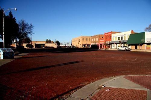 TexasMemphisBrickStreetLookingNorthSMichaels0108