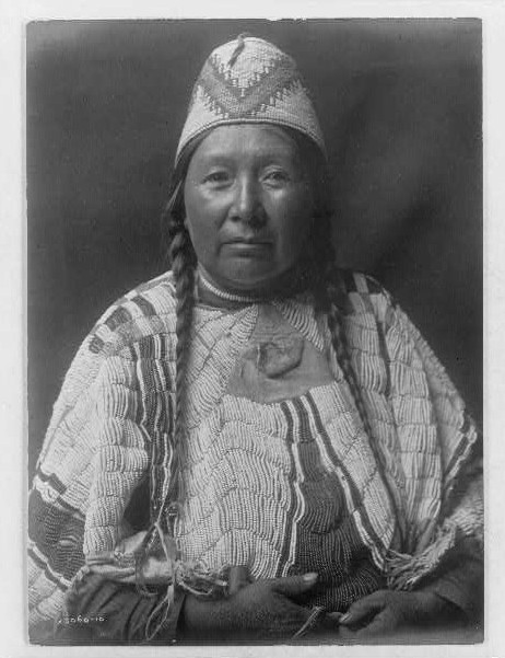 Wife of Mnainak--Yakima by Edward S. Curtis ca. 1903