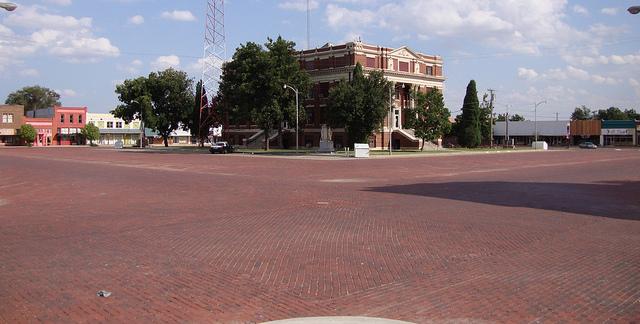 brick street memphis, texas