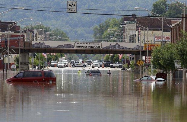 middleborough flood