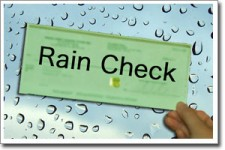 DYK: Will you take a rain check?