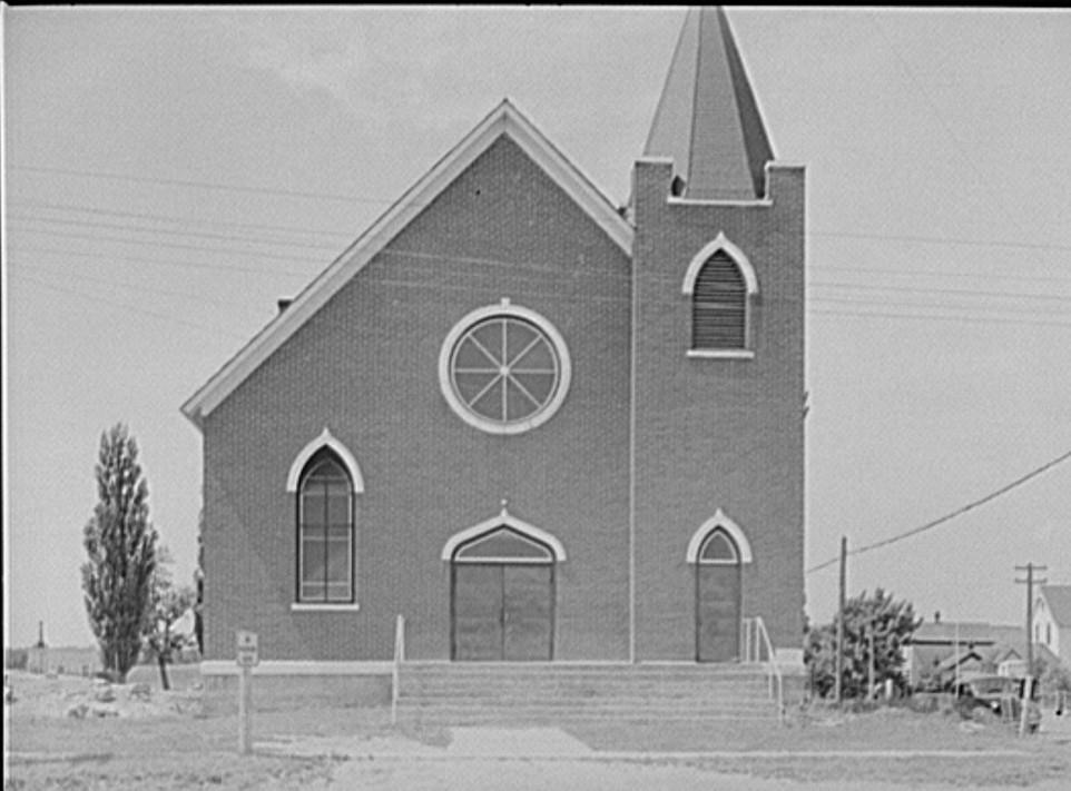 Church. Baraga, Michigan 1941