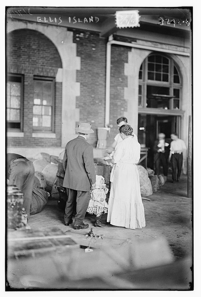 Ellis island, March 7, 1917 by Bain News Service