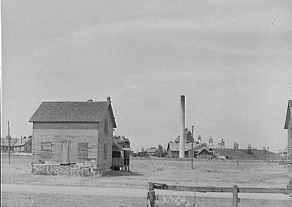 Franklin Mine, Michigan John Vachon 1941