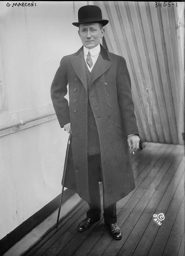 G. Marconi ca. 1915 Bain News Service