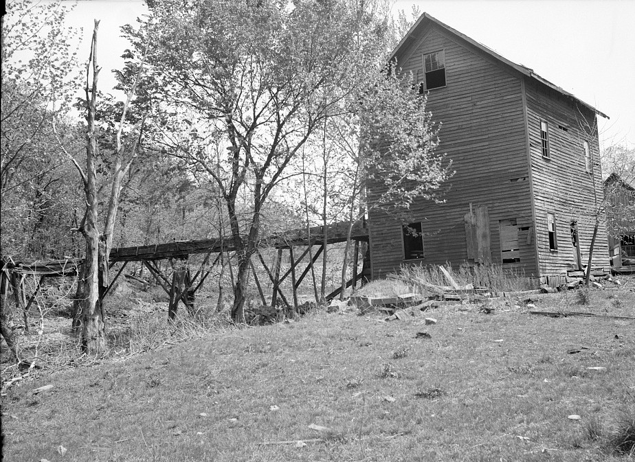 Howes Mill. Near Meramoc Forest project area. Salem, Missouri by Carl Mydans 2May 1936