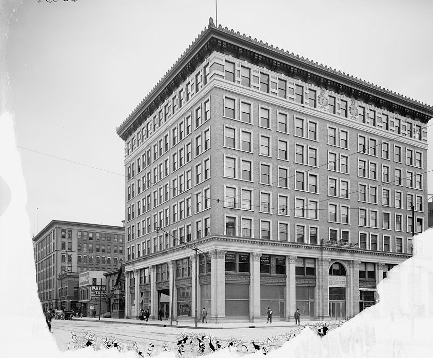 Indianapolis, Ind., Board of Trade Bldg ca. 1890 by Detroit Publishing Company