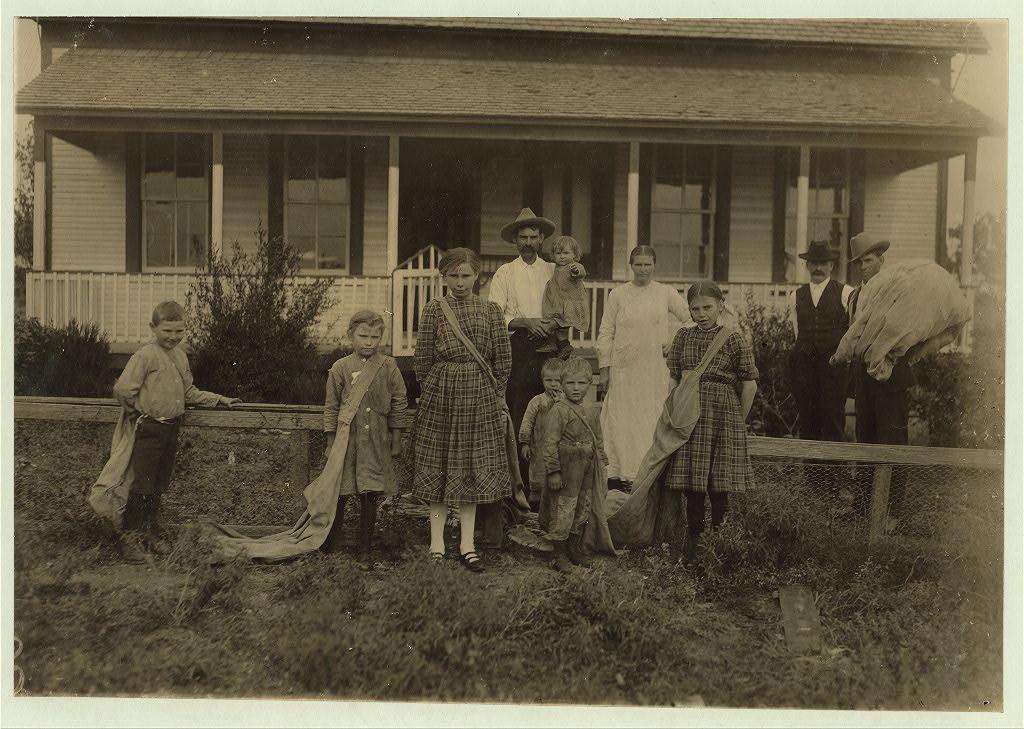 Lewis Wicke hine nov.1913 - Sulak family, frugal Bohemian farmers own an eighty acre farm near West.