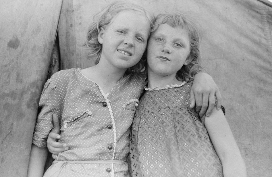 Migrant children, Berrien County, Michigan July 1940