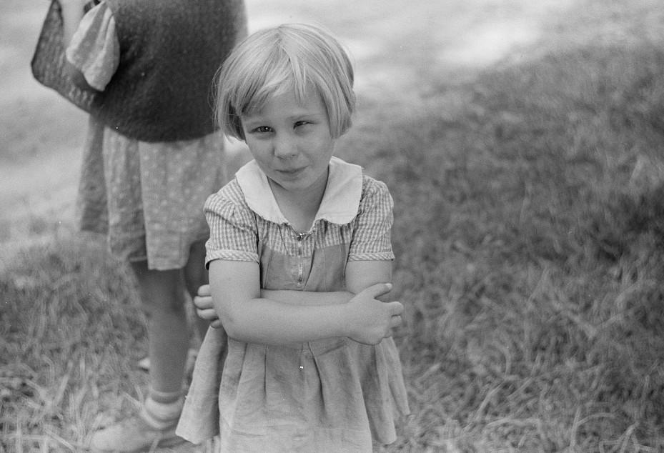 Migrant children at nursery school, Berrien County, Michigan2 1940