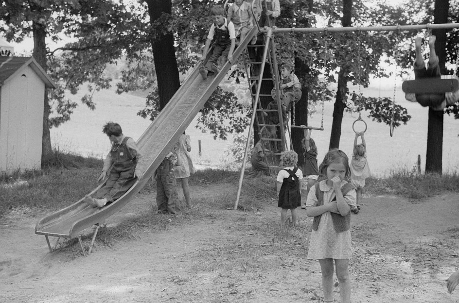 Migrant children at nursery school, Berrien County, Michigan4