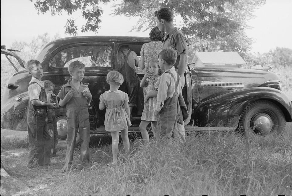 Migrant children at nursery school, Berrien County, Michigan5 1940