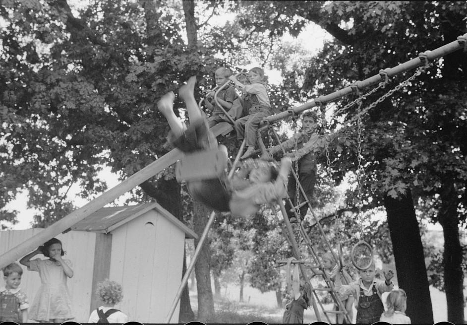 Migrant children at nursery school, Berrien County, Michigan6 1940