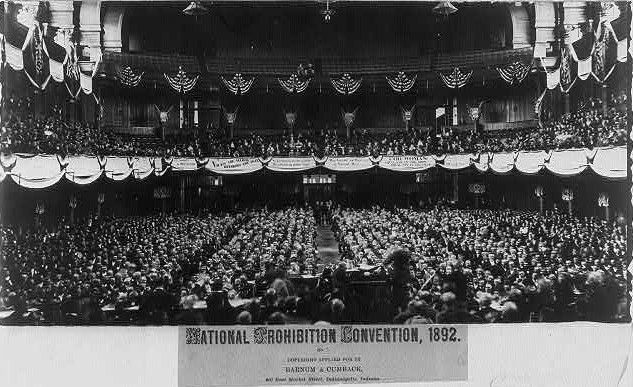 National Prohibition Convention, 1892 Indiana
