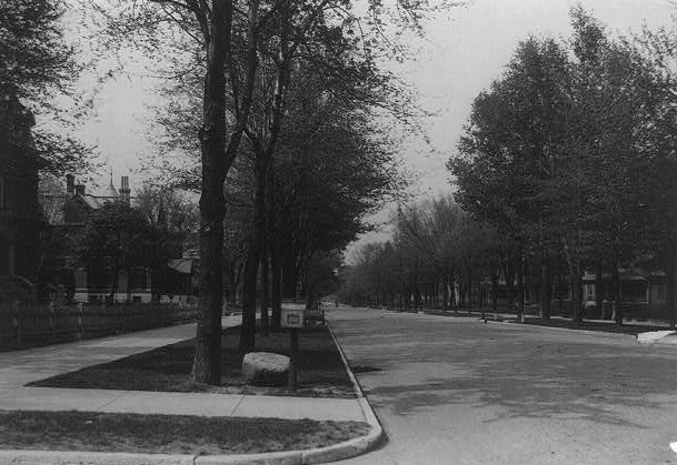 North Delaware Street, Indianapolis, Ind 1903