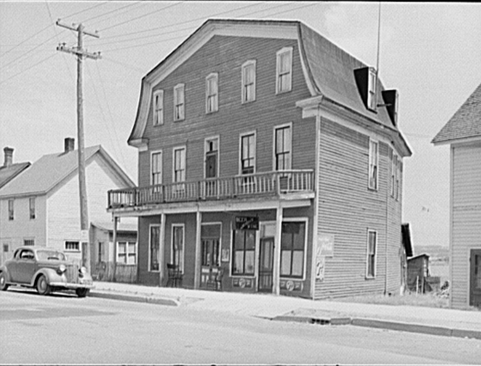 Old hotel. Baraga, Michigan john Vachon 1941