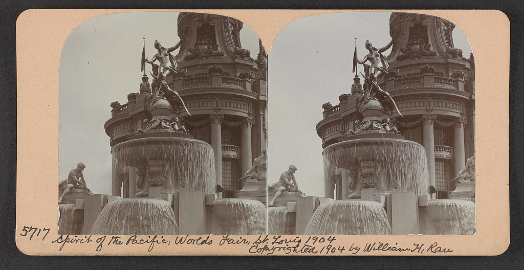 Spirit of the Pacific, World's Fair, St. Louis, 1904
