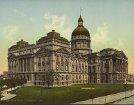 Indiana – beautiful photographs of the way she looked in the 1890s and early 1900s