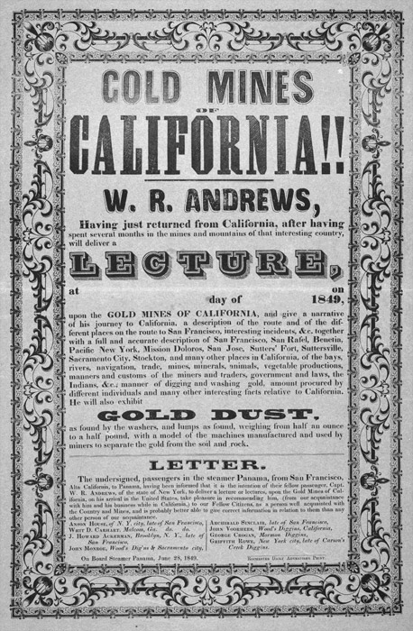 gold rush ad