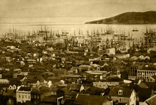 Dash cam in San Francisco – four days before the 1906 earthquake!