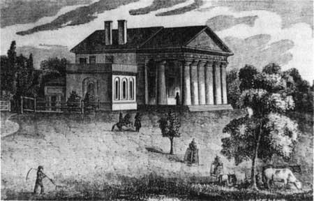 Arlington House as it appeared 1804-1816