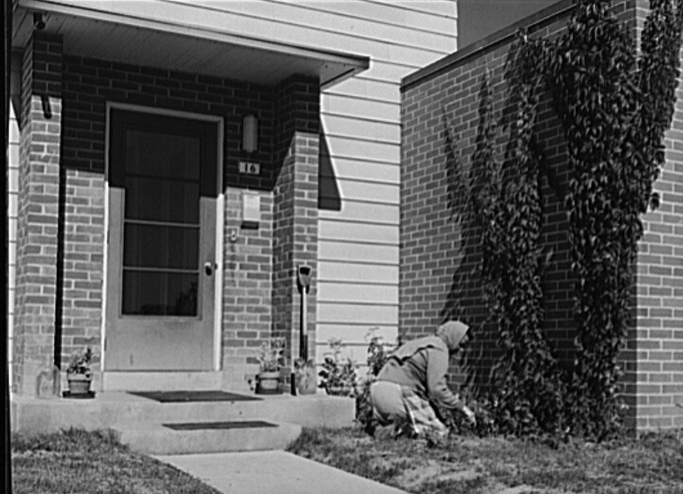 Greenhills, Ohio October 1939 by photographer John Vachon 8