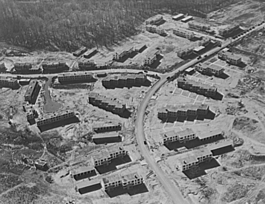 Greenhills7 aerial view Jan. 1938