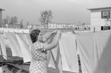 [pictures from October 1938] I can smell the fresh scent of clothes hung out to dry outside – Can you?