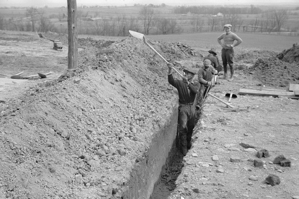 Related to Surveying at the Greenhills Project, Cincinnati, Ohio April 1936 Theodor Jung