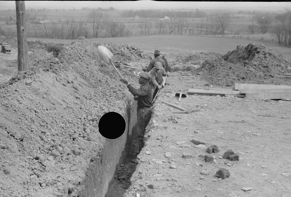 Related to Surveying at the Greenhills Project, Cincinnati, Ohio April 1936 Theodor Jung2