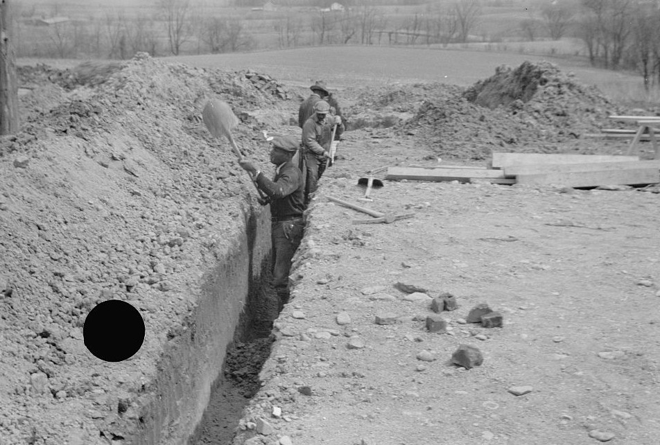 Related to Surveying at the Greenhills Project, Cincinnati, Ohio April 1936 Theodor Jung3