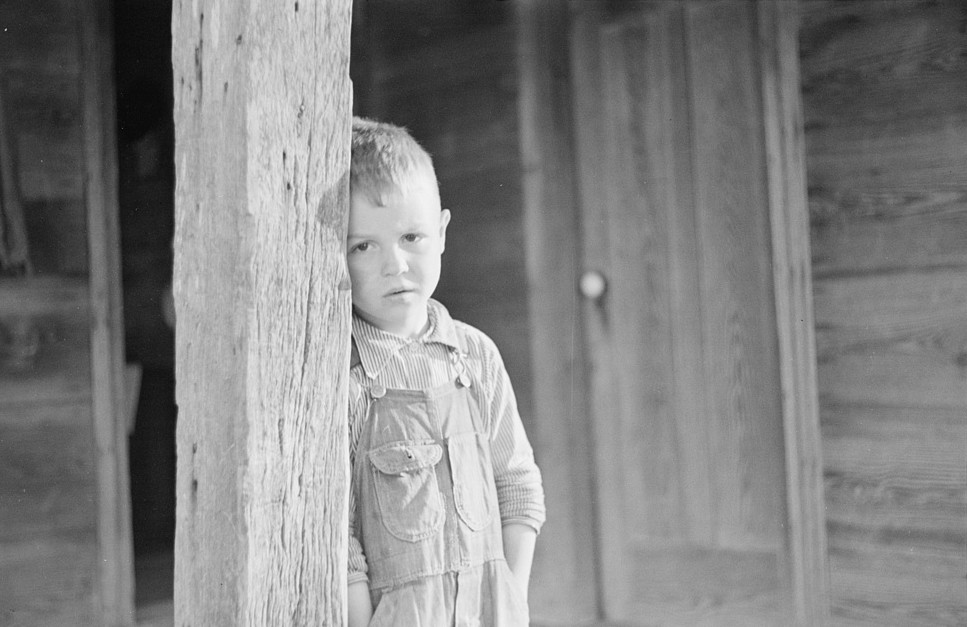 Son of tenant farmer, North Carolina by John Vachon 1938