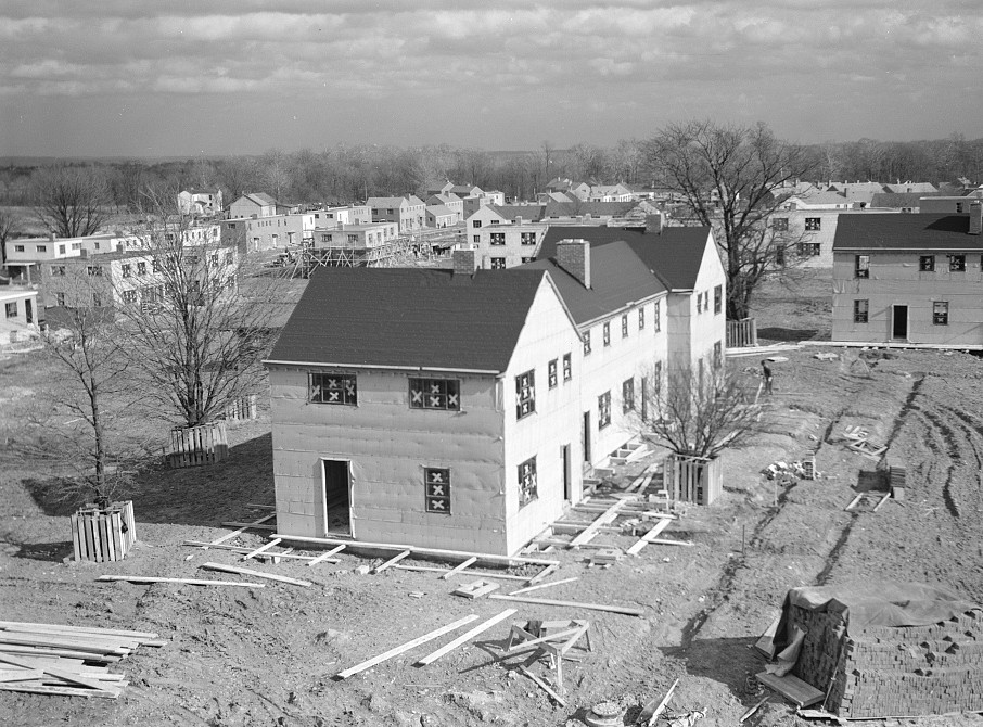 View of the Greenhills project, Ohio feb. 1937 russell lee