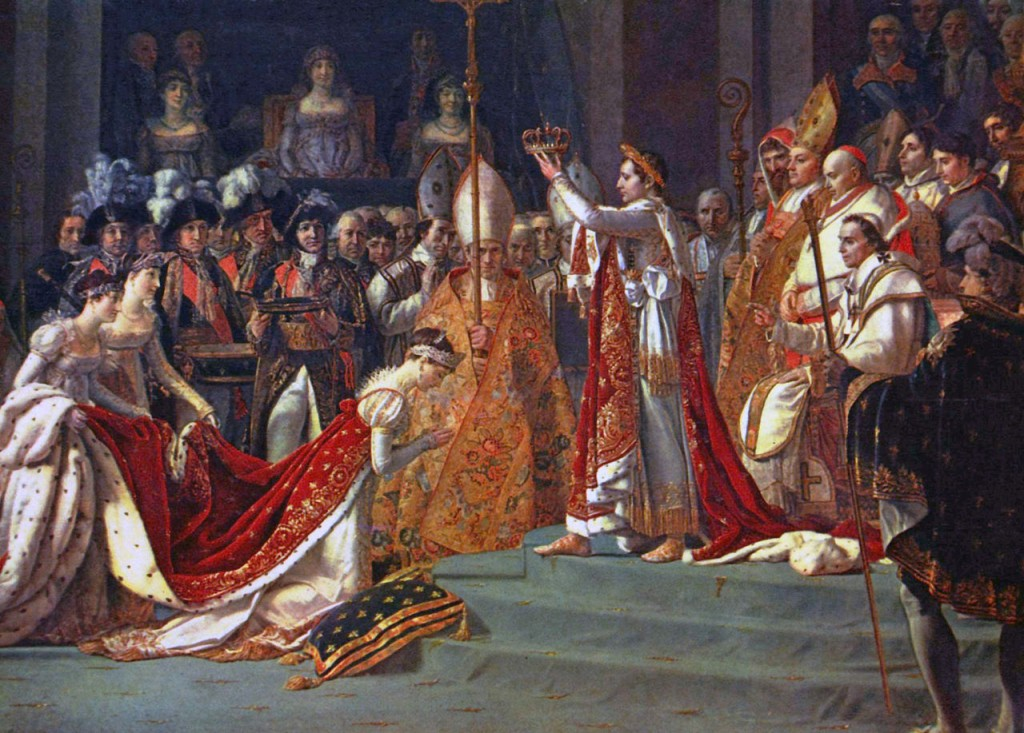 josephine kneels before napoleon
