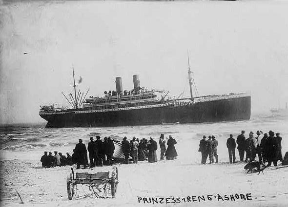 prinzess Irene ashore