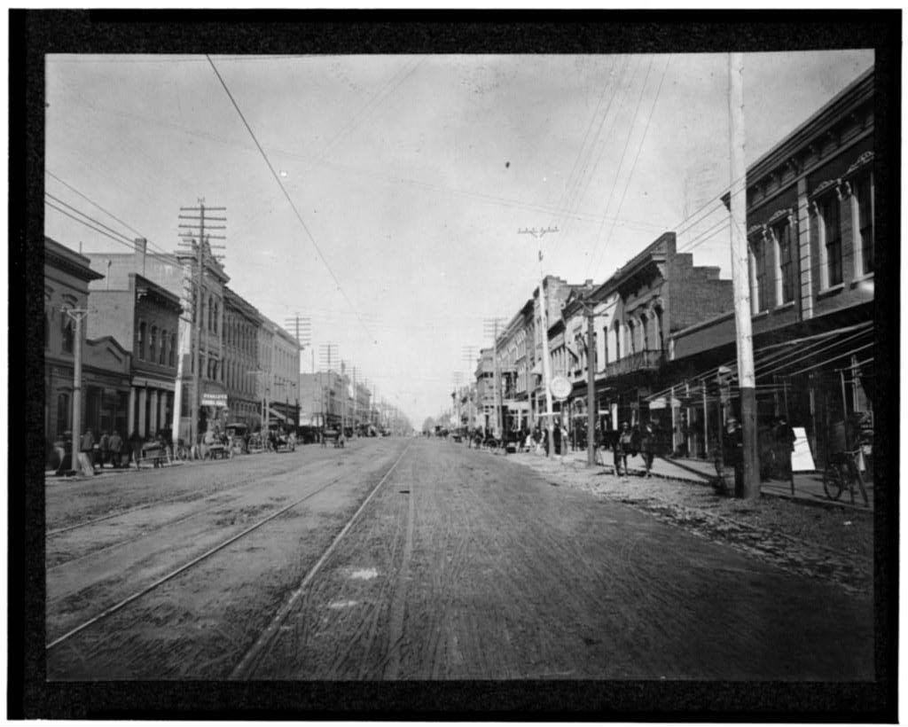 Columbia, South Carolina, Main Street 1901, loc