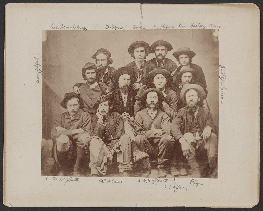 Group of Union Soldiers that escaped from Columbia SC prison