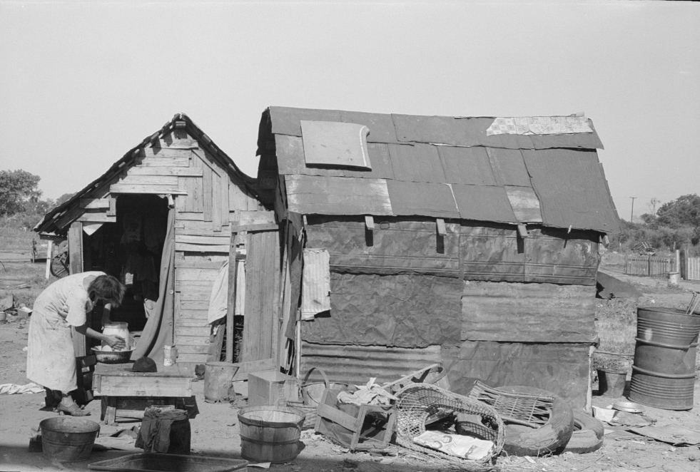 Homelessness In Oklahoma In 1939 Photographs From The