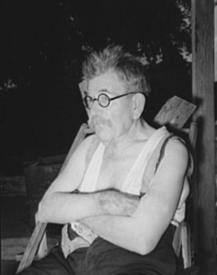 Old German, resident of community camp. Oklahoma City, Oklahoma july 1939