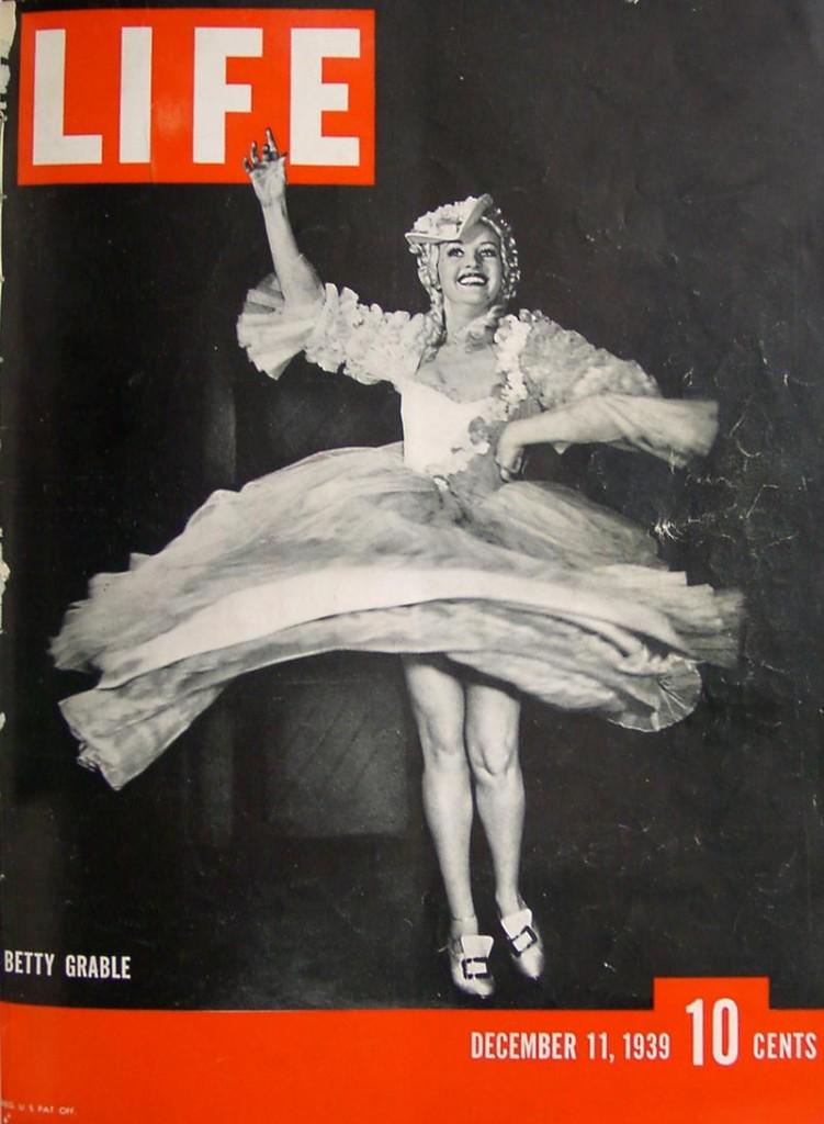 betty gable life magazine